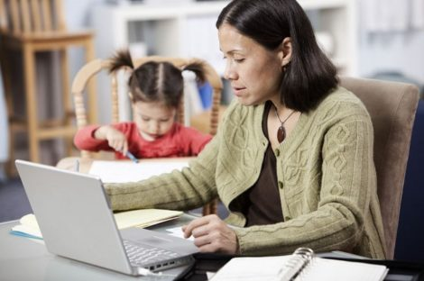 Masterstudium mit Kind